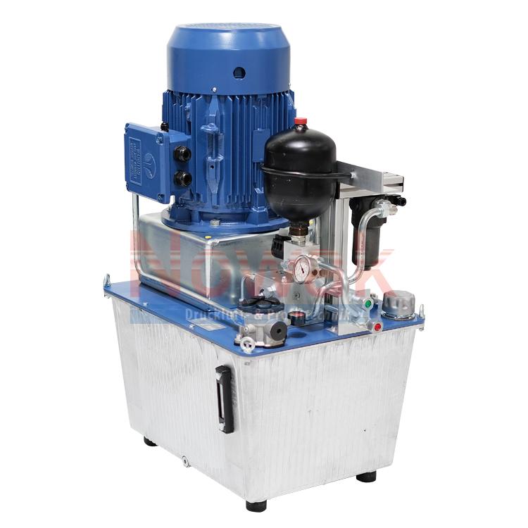 Hydraulikaggregat 3 kW Speicherladung Zwangskühlung 12 Ltr/min 150 bar