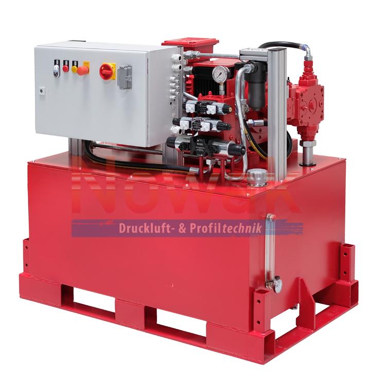 Hydraulikaggregat 11 kW Leistungsgeregelt 250 bar Menge variabel